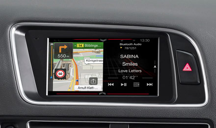 Golf 6 - Navigation - One Look Display  - X703D-Q5