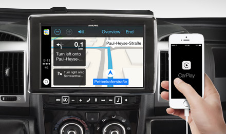 Online Navigation with Apple CarPlay - X902D-DU