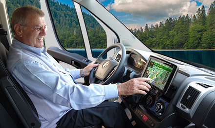 Ducato, Jumper and Boxer - Easy to reach from the driver's seat - X902D-DU