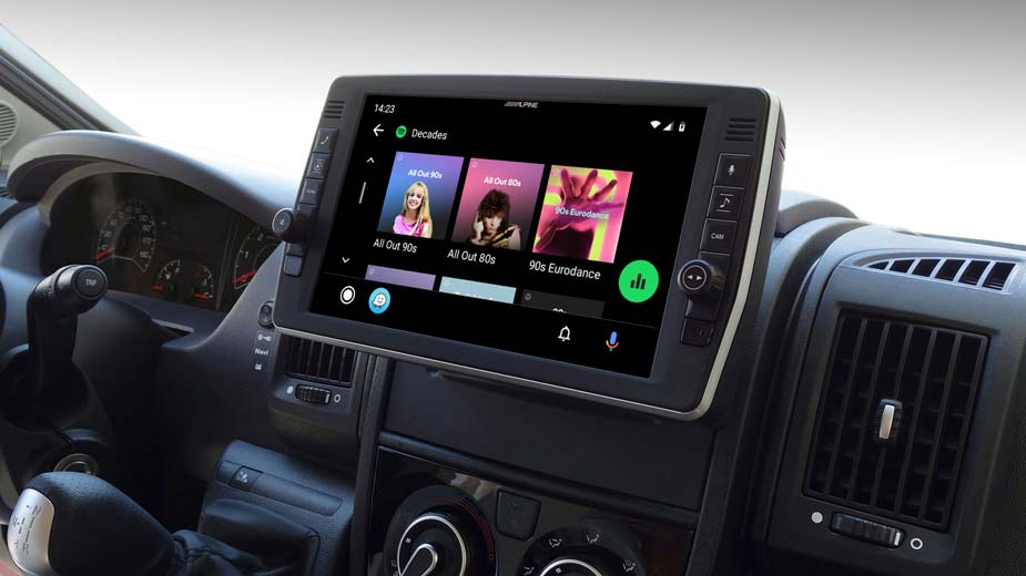 Ducato, Jumper and Boxer - Infotainment – Entertainment on the Road - X903D-DU2