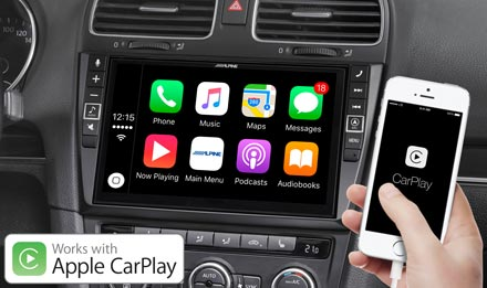 Golf 6 - Works with Apple CarPlay - X902D-G6