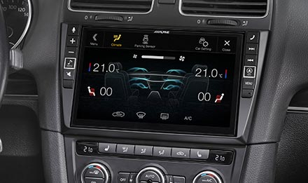 Golf 6 - Air Condition Display - i902D-G6