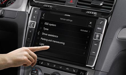Golf 7 - Vehicle System Setup  - i902D-G7